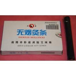 Moxa carbón sin humo (5 unid.) 1,4x11cm