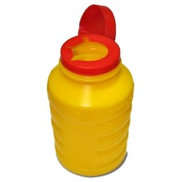 Contenedor para deshechar agujas 1 litro